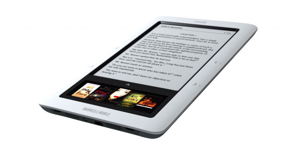 Nook, eBook Reader by Barnes & Noble