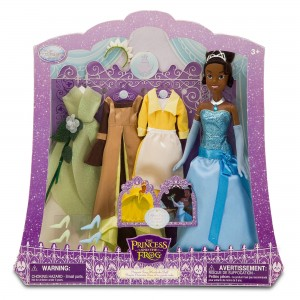 Disney Princess Tiana Wardrobe Doll
