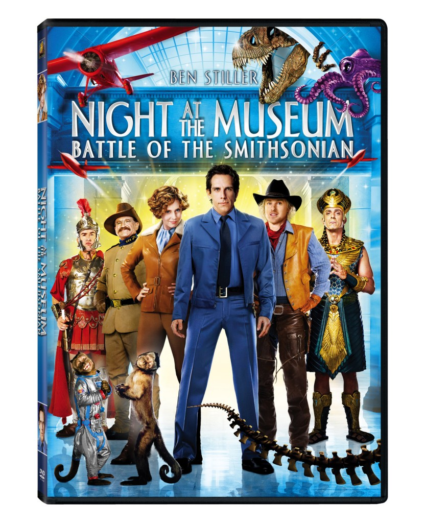 Win Night At The Museum: Battle of the Smithsonian DVD (3 ...