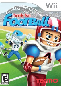 wii - family fun football