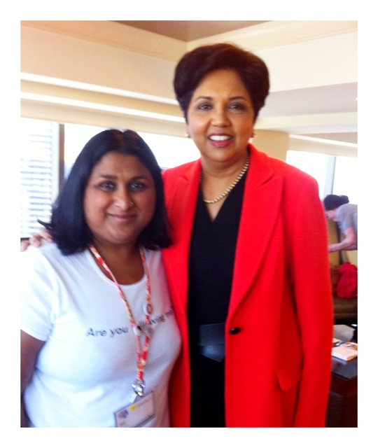 Meeting Indra Nooyi 8d9602bc3