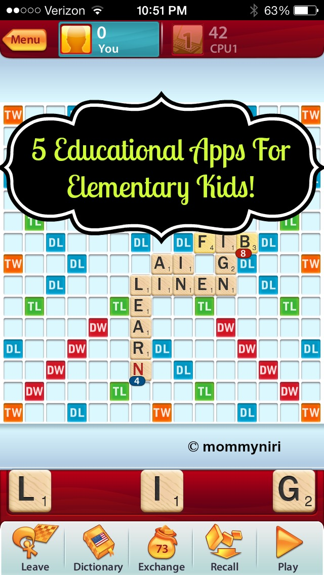 5 Educational Apps For Elementary Kids! #VZWBUZZ