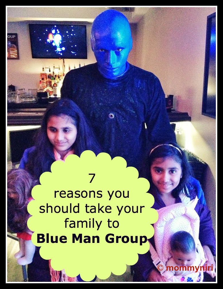 7 reasons you should take your family to Blue Man Group
