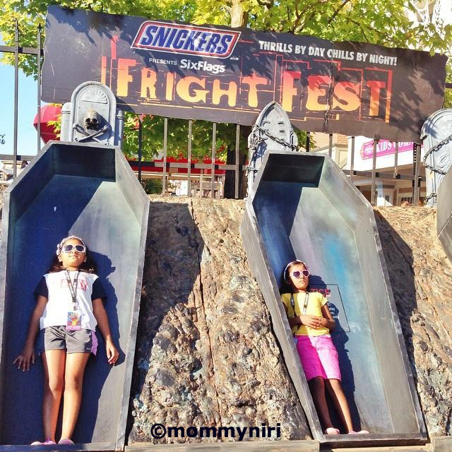 Admittedly I Was Concerned About Fright Fest At Six Flags New England Because My Girls Are Pretty Young And I Know Whats Ands May Consider Cool